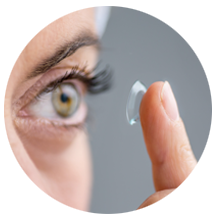 Traverse City Contact Lens Exam